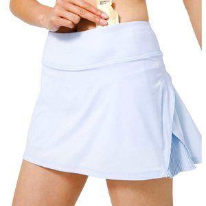 LULULEMON Play Off the Pleats Skirt DAYDREAM 8 Reg